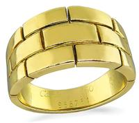 Estate Cartier Gold Ring