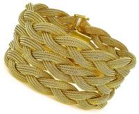 Estate Gold weave Bracelet