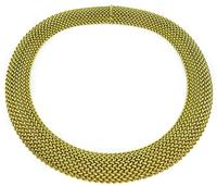 Estate Gold Weave Necklace