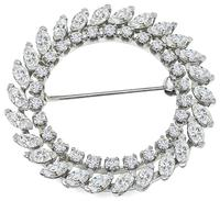 Estate 2.75ct Diamond Pin