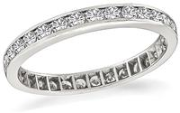 0.90ct Diamond Estate Eternity Wedding Band