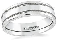 Estate Scott Kay Platinum Wedding Band