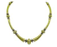 Estate Seidengang Diamond Gold Necklace