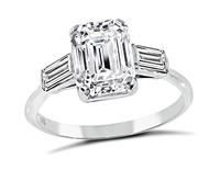 Estate Tiffany & Co GIA 1.94ct Diamond Engagement Ring