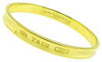 Estate Tiffany & Co Gold Bangle