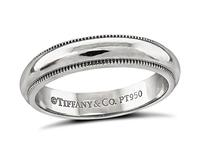 Estate Tiffany & Co Wedding Band