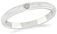 Estate Tiffany & Co Diamond Wedding Band