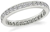 Estate 0.90ct Diamond Eternity Wedding Band