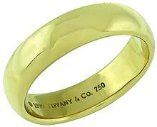 Tiffany & Co Gold Wedding Band Photo 1