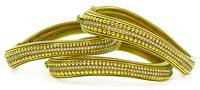 Estate Set of Three 2.25ct Diamond Kieselstein Cord Caviar Bangle