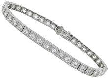 3.50ct diamond vintage bracelet photo 1