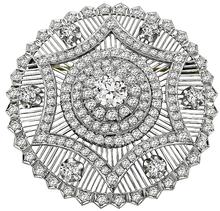 Antique 1.35ct Center Diamond 4.00ct Diamond Pin