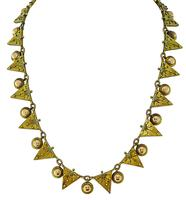 Victorian Two Tone Gold Necklace