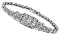 Estate 3.00ct Diamond Bracelet