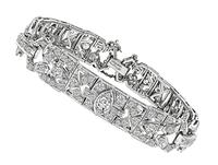 Vintage 3.50ct Diamond Bracelet