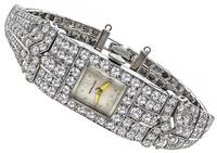 Art Deco 7.00ct Diamond Hamilton Watch