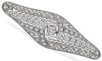 Edwardian 2.00ct Diamond Pin
