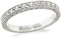 Estate Platinum Wedding Band
