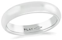 Estate 4mm Platinum Wedding Band
