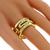 Bvlgari 0.65ct Diamond Gold Open Ring | Israel Rose
