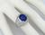 5.36ct ceylon sapphire 2.40ct diamond gold ring photo 2