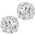 2.06ct Diamond Gold Stud Earrings | Israel Rose