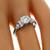 Antique GIA Certified 0.93ct Old European Cut Diamond Platinum Engagement Ring