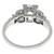 GIA 0.93ct Diamond Platinum Engagement Ring | Israel Rose
