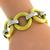 Gold Rings  And Bar Chain Bracelet| Israel Rose