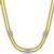 6.66ct Diamond 2 Tone Gold Mesh Necklace | Israel Rose