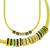 1.75ct Diamond 4.00ct Multi Color Gems Gold Necklace