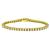 4.50ct Diamond Tennis Gold Bracelet | Israel Rose