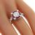 GIA 1.06ct Diamond Ruby Gold Engagement Ring  | Israel Rose