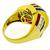 Diamond Sapphire Ruby Emerald 14k Yellow Gold Ring