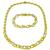 1.50ct Diamond Gold Infinity Necklace And Bracelet Set