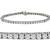 6.95ct Diamond Tennis Gold Bracelet | Israel Rose