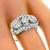 Art Deco 1.00ct Diamond Anniversary Ring | Israel Rose