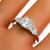 Antique Art Deco GIA Certified 1.02ct Old European Cut Diamond Platinum Engagement Ring