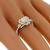 GIA 1.11ct Diamond Gold Engagement Ring | Israel Rose