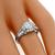 Art Deco GIA 0.89ct Diamond Engagement Ring| Israel Rose