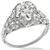 Edwardian 1.79ct Diamond Engagement Ring