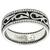 Estate Simon G 0.41ct Pave Set Round Cut Diamond 18k White Gold Wedding Band