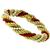 Pearl And Coral Bead Gold Bracelet | Israel Rose