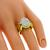 1.05ct Diamond 2 Tone Gold Ring | Israel Rose