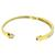 Diamond 14k Yellow Gold Bangle