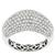 Estate Cartier Style 2.00ct Round Cut Diamond Cluster 18k White Gold Ring