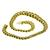 Gold Tapering Double Chain Link Necklace