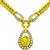Cartier 6.00ct Sapphire 2.00ct Diamond Gold Necklace  | Israel Rose
