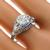 Antique Art Deco GIA Certified 1.07ct Old European Brilliant Diamond Sapphire Platinum Engagement Ring