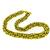 Estate Bvlgari 18k Yellow Gold Tapering Chain Necklace
